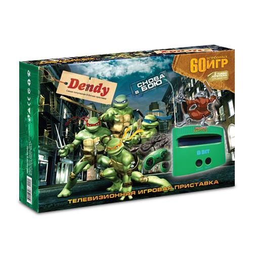 Приставка Dendy «Turtles» + 60 игр