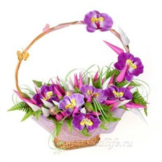 Букет из конфет Орхидеи