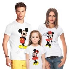 Набор семейных футболок с Микки маусом