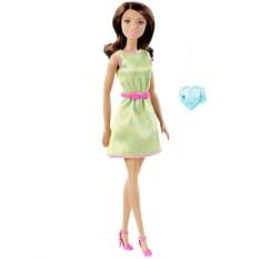 Кукла Barbie Fashionistas Модница с кольцом Mattel