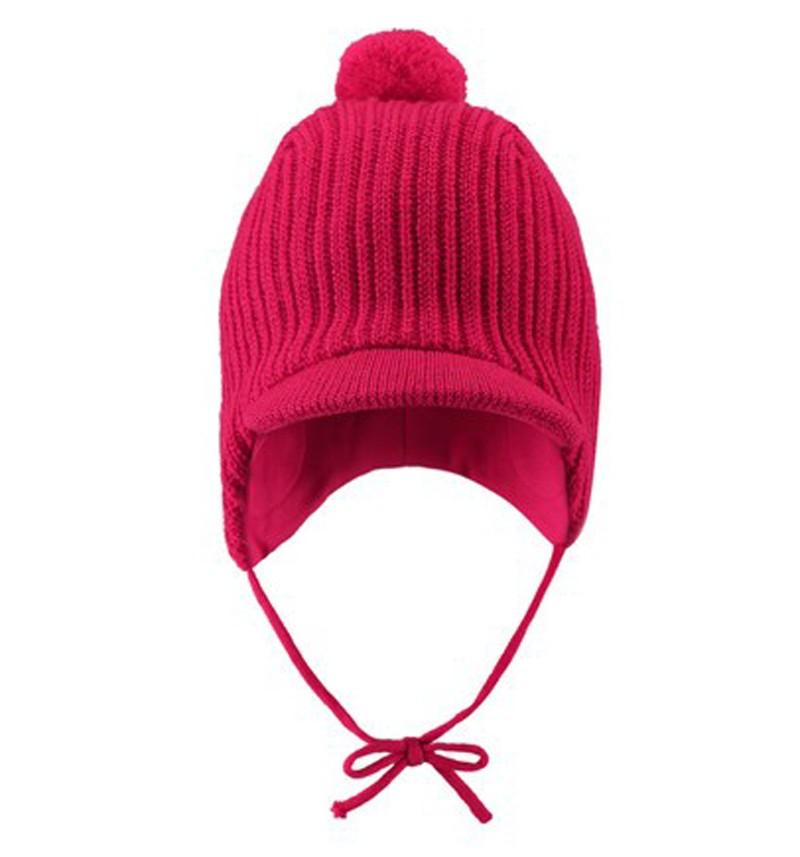 Шапка Reima, темно-розовая