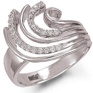 Кольцо «Волны»