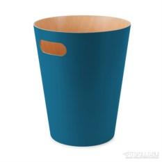 Сине-зелёная корзина для мусора Woodrow