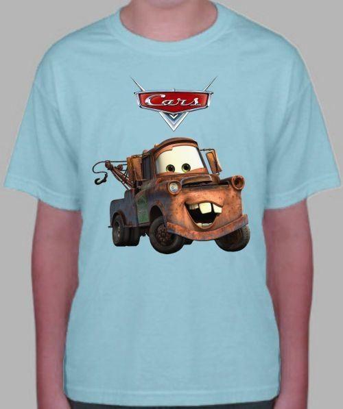 Детская футболка Мэтр, тачки