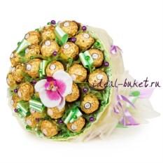 Букет из конфет Орхидея