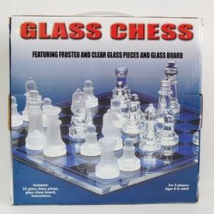 Стеклянные шахматы Подарочные