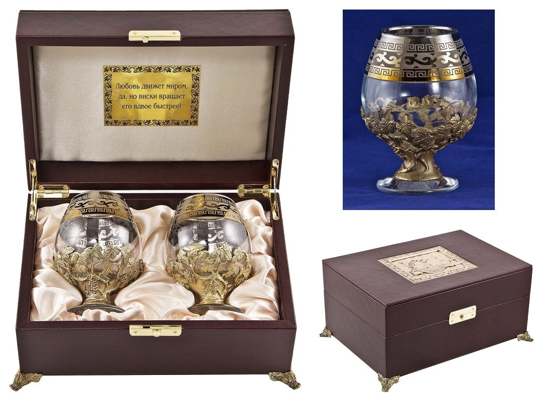 Набор бокалов для бренди Версаче