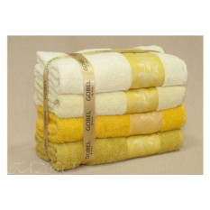 Набор желтых полотенец
