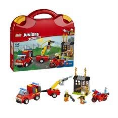 Конструктор Lego Juniors Чемоданчик Пожарная команда