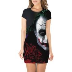 Платье 3D Джокер