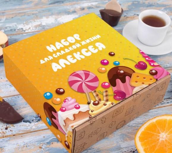 Набор шоколадных мелочей «Набор для сладкой жизни»