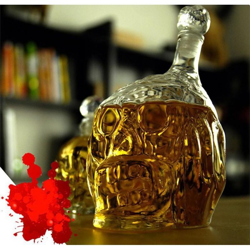 Графин Хрустальный череп Zombie Head (450 мл.)