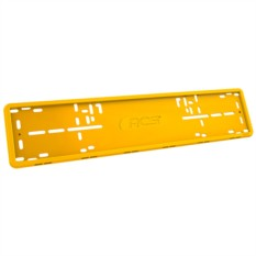 Желтая рамка номерного знака RCS