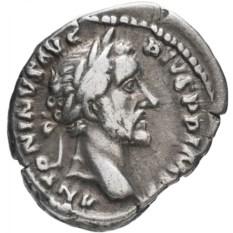 Денарий Римской Империи Антонин Пий 139-161 гг