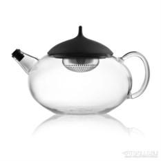 Стеклянный чайник с механизмом для заваривания