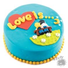 Именной торт Love Is