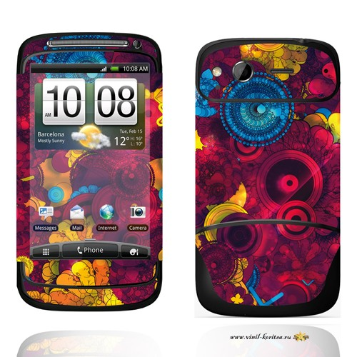 Наклейка Винил с корицей (HTC Desire S)