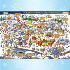 Настольная игра «Как Дед Мороз в Москву ездил»