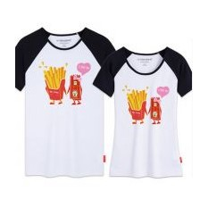 Парные футболки Фри Лав