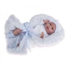Озвученная кукла Мара в голубом Munecas Antonio Juan