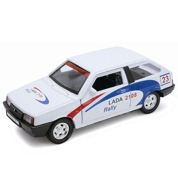 Модель машины Welly  LADA 2108 Rally