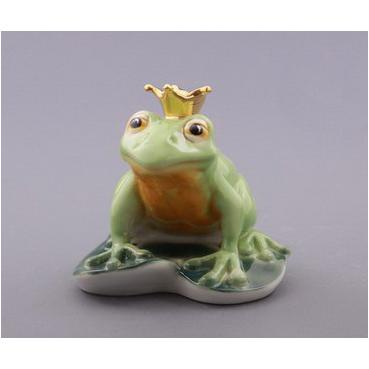 Фигурка фарфоровая «Лягушиный король»
