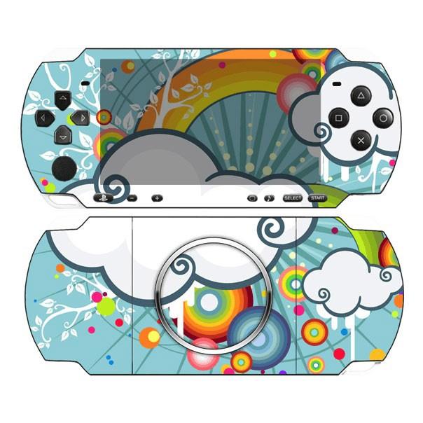 Виниловая наклейка «Облака» (PSP 3000)