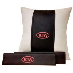 Набор из подушки и накладки на ремень безопасности Kia