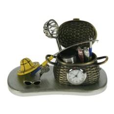 Настольные часы Рыбалка