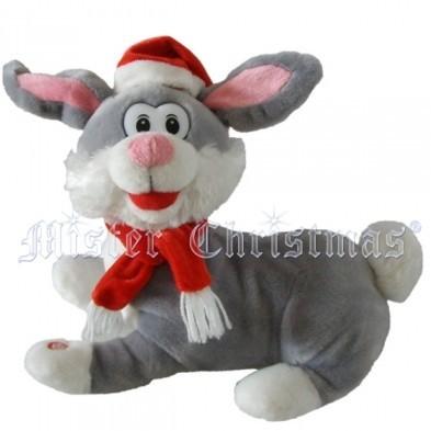 Заяц музыкальный Mister Christmas