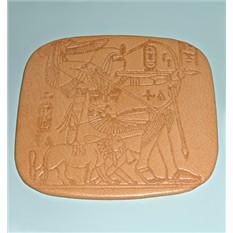 Подставка под кружку Фараон на охоте