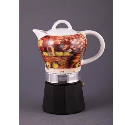 Кофеварка гейзерная «Кофе-Яблоки»