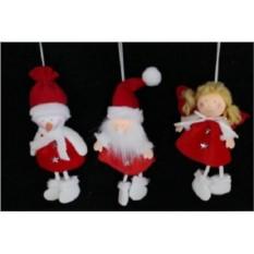 Новогодняя игрушка Дед Мороз,Снеговк,Ангел