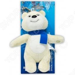 Игрушка-брелок Sochi 2014 Белый мишка, 12 см