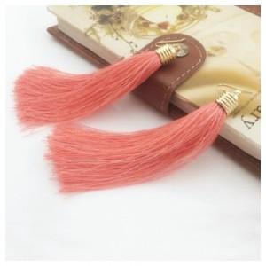 Серьги Tassel (розовые)