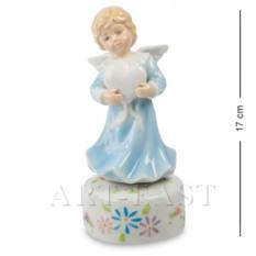 Музыкальная статуэтка Ангел с сердцем (Pavone)
