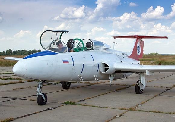 Полёт на л-29 в подарок 70