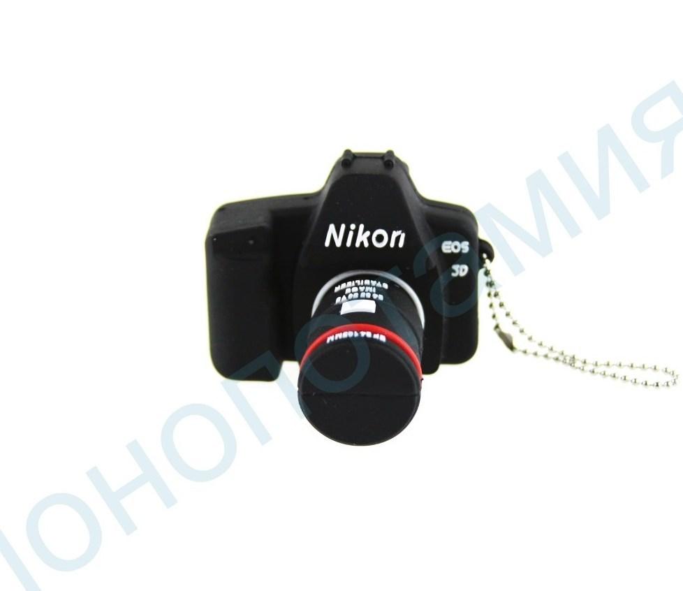 Флешка в виде фотоаппарата Nikon 16-32 Gb