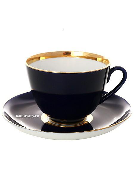 Чайный сервиз на 6 персон Ночь
