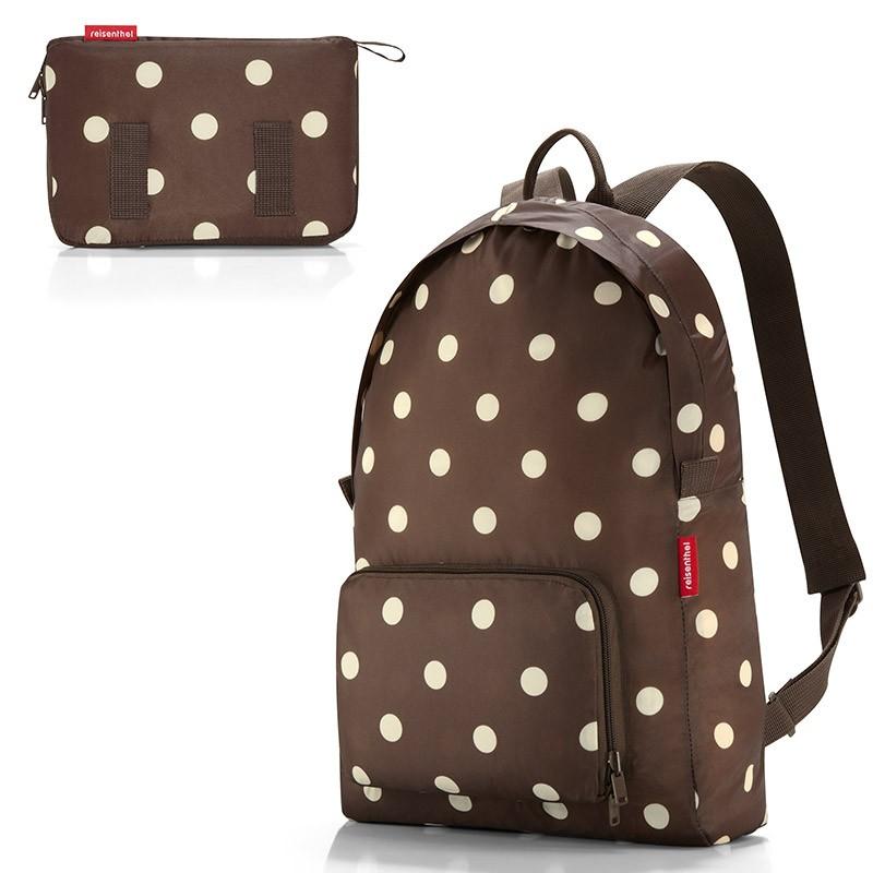 Рюкзак складной Mini maxi mocha dots
