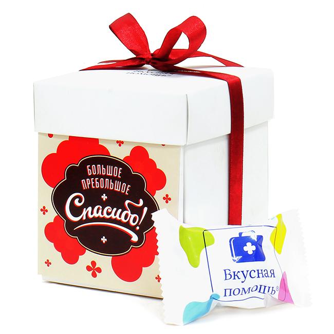 Набор шоколадных конфет «Большое пребольшое спасибо»