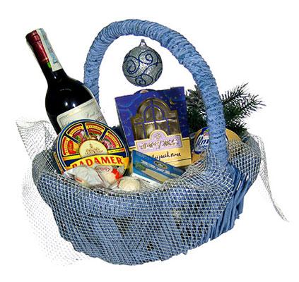 Подарочная корзина «Праздничное ассорти»