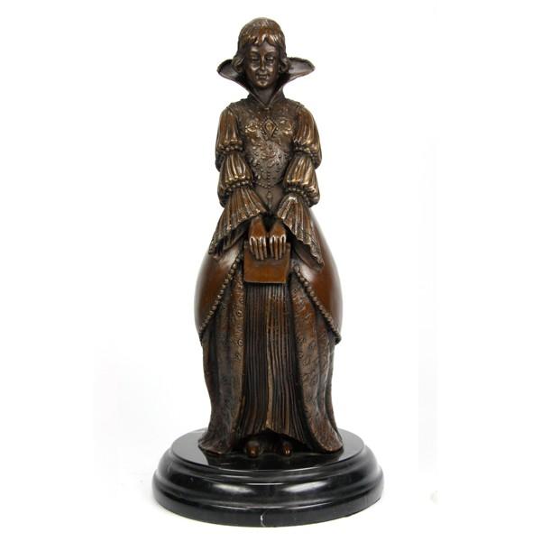 Бронзовая статуэтка Принцесса