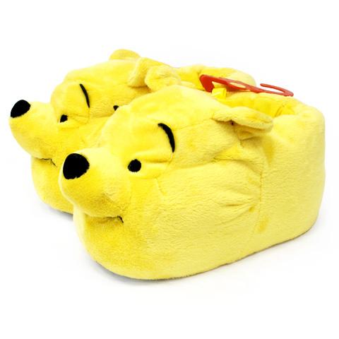 Тёплые тапочки-игрушки «Винни»