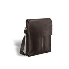 Кожаная сумка через плечо Brialdi Positano (коричневый)