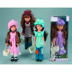Кукла Sarah kay с корзинкой