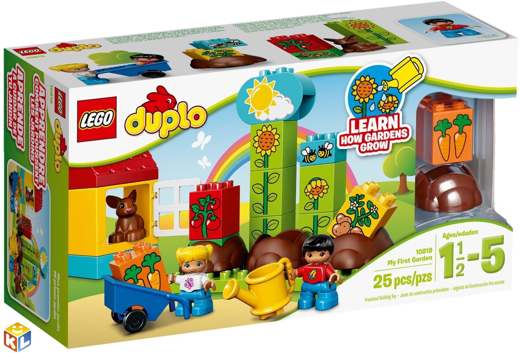 Конструктор lego duplo Мой первый сад