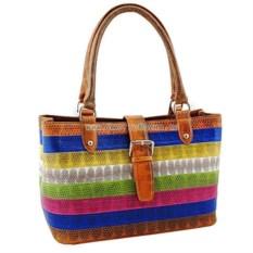 Женская сумка из змеиной кож