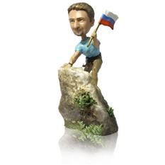 Фигурка альпиниста или скалолаза по фото Вершина мира