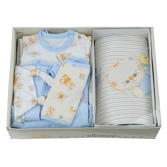 Подарочный комплект для новорожденного (9 предметов)